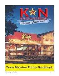 TM Handbook 2-2012 - K&N Management