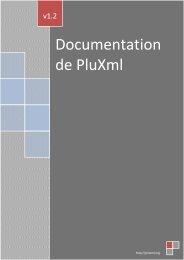 Documentation de PluXml