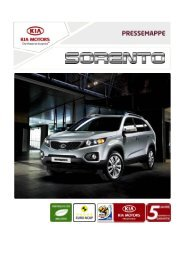 Download Pressemappe Sorento - Kia