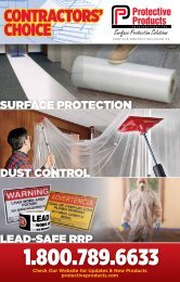 ContraCtors' ChoiCe - Protective Products