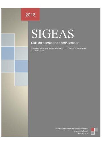 Manual Sigeas
