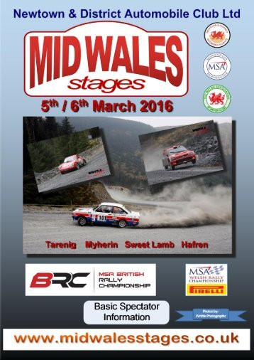 Mid-Wales Stages 2016
