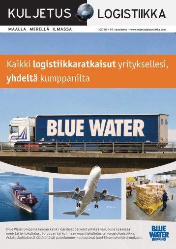 Kuljetus & Logistiikka 1 / 2016