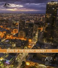 STATE OF THE ENERGY MARKET 2015