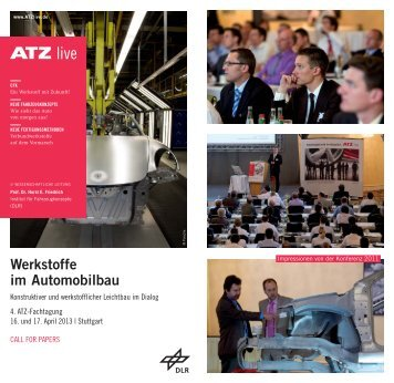 Werkstoffe im Automobilbau - ATZlive
