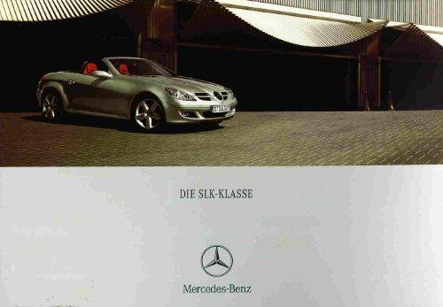 Page 1 I DIE SLKKLASSE Mercedes-Benz Page 2 Page 3 ...