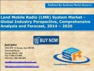 Land Mobile Radio (LMR) System Market