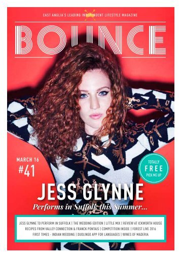 Bounce Magazine March's 2016