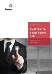 Digitization on Boards Report 2016