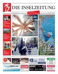 Die Inselzeitung Mallorca März 2016