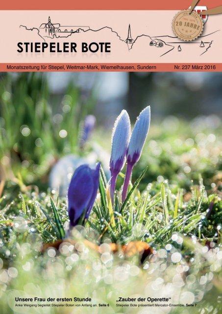 Stiepeler Bote 237 - März 2016