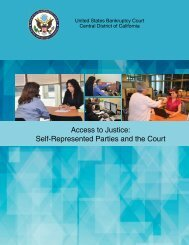 Access to Justice Self-Represented Parties and the Court