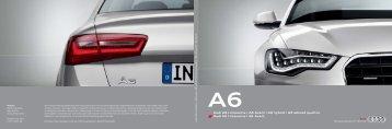 Katalog zum Audi A6