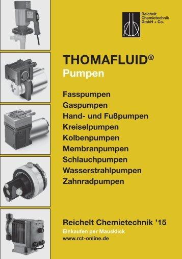 RCT Reichelt Chemietechnik GmbH + Co. - Thomafluid Pumpen