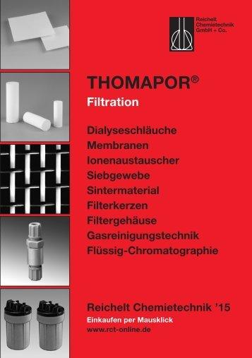 RCT Reichelt Chemietechnik GmbH + Co. - Thomapor