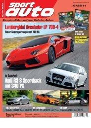 Sport Auto, Heft 6/2011 450(331) - Wendland Motorentechnik GmbH