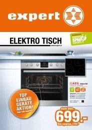 Flugblatt Elektro Tisch - März 2016