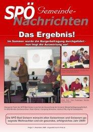 Das Ergebnis! - SPÖ Bad Goisern