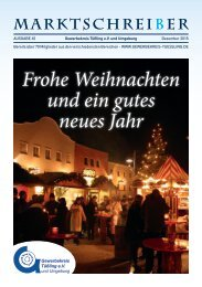 Marktschreiber Ausgabe 65 - Dezember 2015