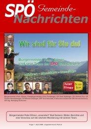 Sonntag, 27. April 2008 - SPÖ Bad Goisern