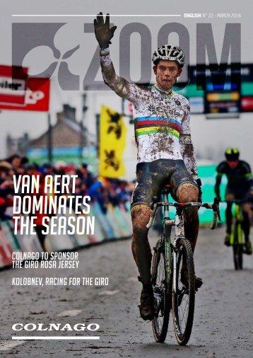 Van Aert dominates the season