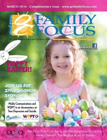 QC Family Focus: March 2016