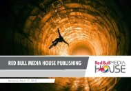 RED BULL MEDIA HOUSE PUBLISHING