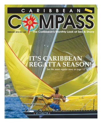 Caribbean Compass Yachting Magazine February 2016