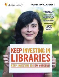 QUEENS LIBRARY MAGAZINE