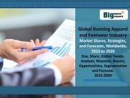 Global Running Apparel and Footwear Industry
