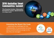 2016 Australian Smart Communities Summit