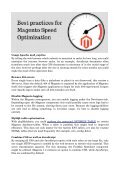 Effective Ways to Optimize Magento Website Performance - Page 2