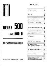 NEUER 500 UND 500 D - Fiat 500 Klub Danmark