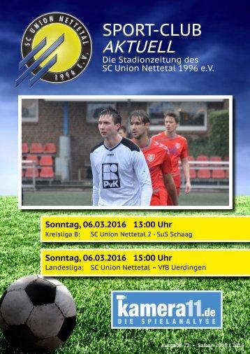 Sport Club Aktuell - Ausgabe 22 - 06.03.2016
