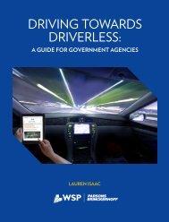 DRIVING TOWARDS DRIVERLESS