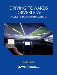 DRIVING TOWARDS DRIVERLESS