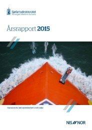 Sjøfartsdirektoratets årsrapport for 2015
