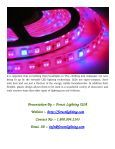 Various Applications For LED Lighting Technology - Page 5