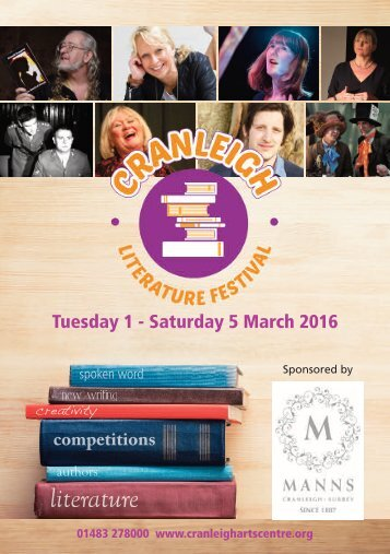 Tuesday 1 - Saturday 5 March 2016