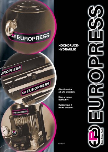 700 bar - Euro Press Pack
