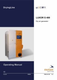 Operating Manual LUXOR S 400