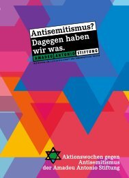 Antisemitismus?