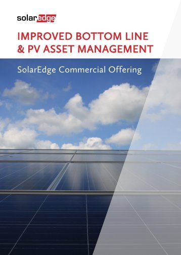 SolarEdge Commercial Catalogue