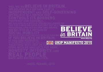 UKIP 2015 MANIFESTO > PAGE 2
