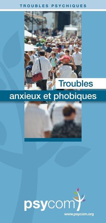 Troubles anxieux et phobiques