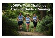 Running and walking training plan