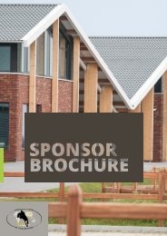 Sponsorbrochure Equestrian Centre de Peelbergen