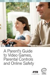 A Parent's Guide to Video Games, Parental Controls and Online Safety