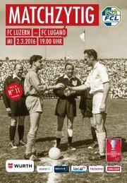 FC LUZERN Matchzytig N°11 15/16 (WSC 1/2)