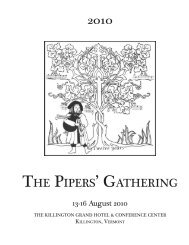 PG 2010 Booklet.pdf - The Pipers' Gathering
